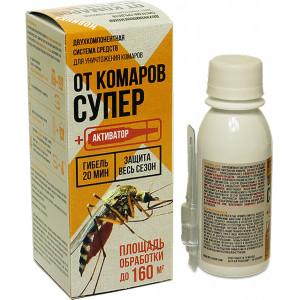 От Комаров Супер 80мл+ ампула активатор