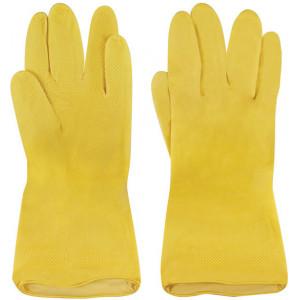 Перчатки хозяйственные резиновый 2-й сорт в ассортименте