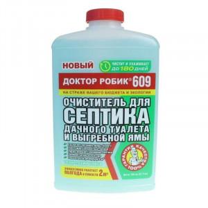 Доктор Робик 609, 0,798 мл ( для выгребных ям, дачных туалетов и септиков)