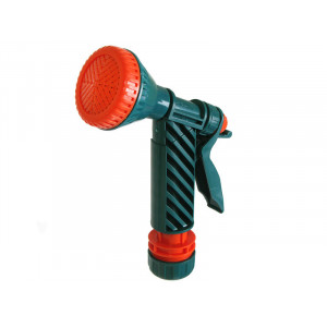 18 Пистолет-душ поливочный с фиксатором ( муфта 1/2)