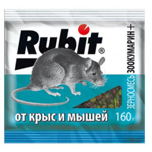 Рубит зоокумарин, зерновая смесь 200г