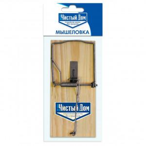 Мышеловка Чистый Дом деревянная (300) 03-048