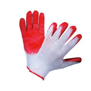 Перчатки ХБ с  1-м латексным покрытием