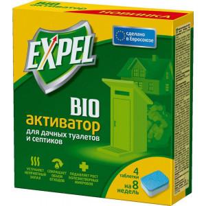 Биоактиватор Expel для дачных туалетов и септиков 4*20 гр