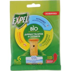 Биоактиватор Expel для дачных туалетов и септиков 40 гр