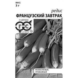 Редис Французский завтрак Гавриш Белый пакет
