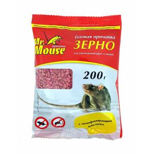 Зерновая приманка Мистер Маус 200гр