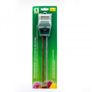 Измеритель pH кислотности почвы 3в1 Грин Белт