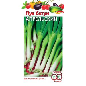 Лук батун Апрельский 0.5 гр. Гавриш Белый пакет