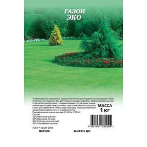 Трава газонная Газон Эко 1 кг Гавриш