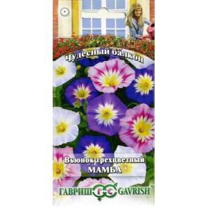 Вьюнок Мамба смесь трехцветный Гавриш Цветной пакет