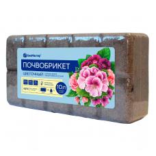 Почвобрикет Цветочный сад 10л Биомастер