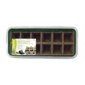 Парник мини с торфяной кассетой 12 горшочков