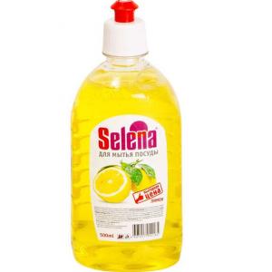 """Средство для мытья посуды Selena """"Выгодная цена"""", Лимон, 500 мл"""