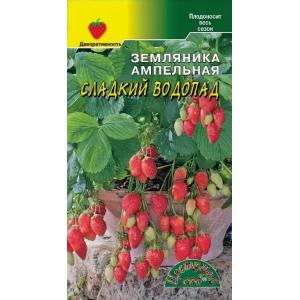Земляника Сладкий Водопад ампельная балконная Цвет Сад Ц